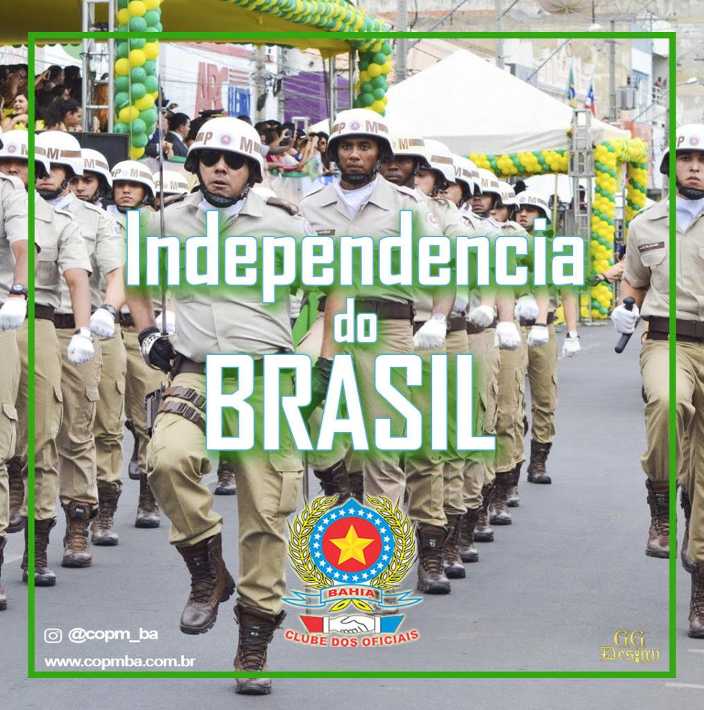 independencia do brasil - copm